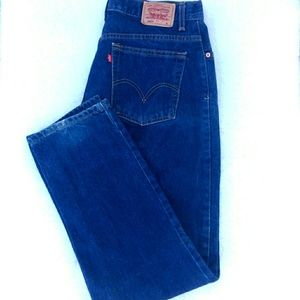 Vintage Womans Levi's 550 Relaxed Tapered Jeans